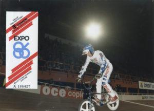 Dennis Langlais - Six Jours de Bercy 1986