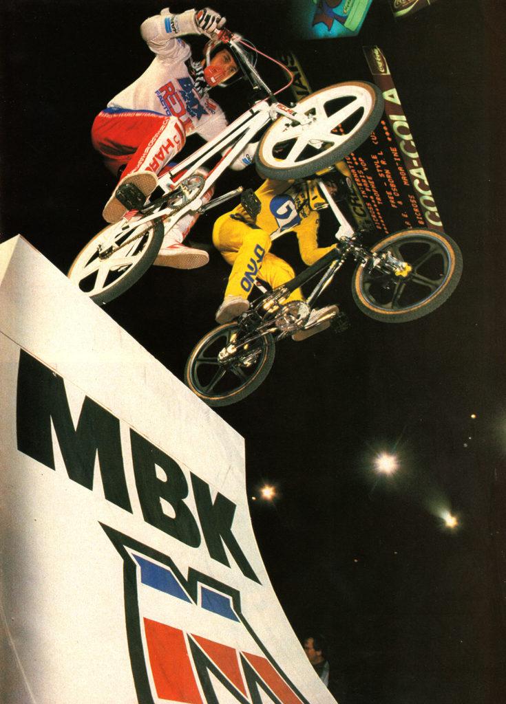 BXM 28 - Janvier 1985 - MBK Branding