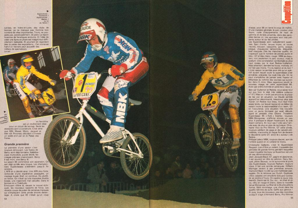 BXM 43 - Avril 1986 - Vuillemot Vico Redois