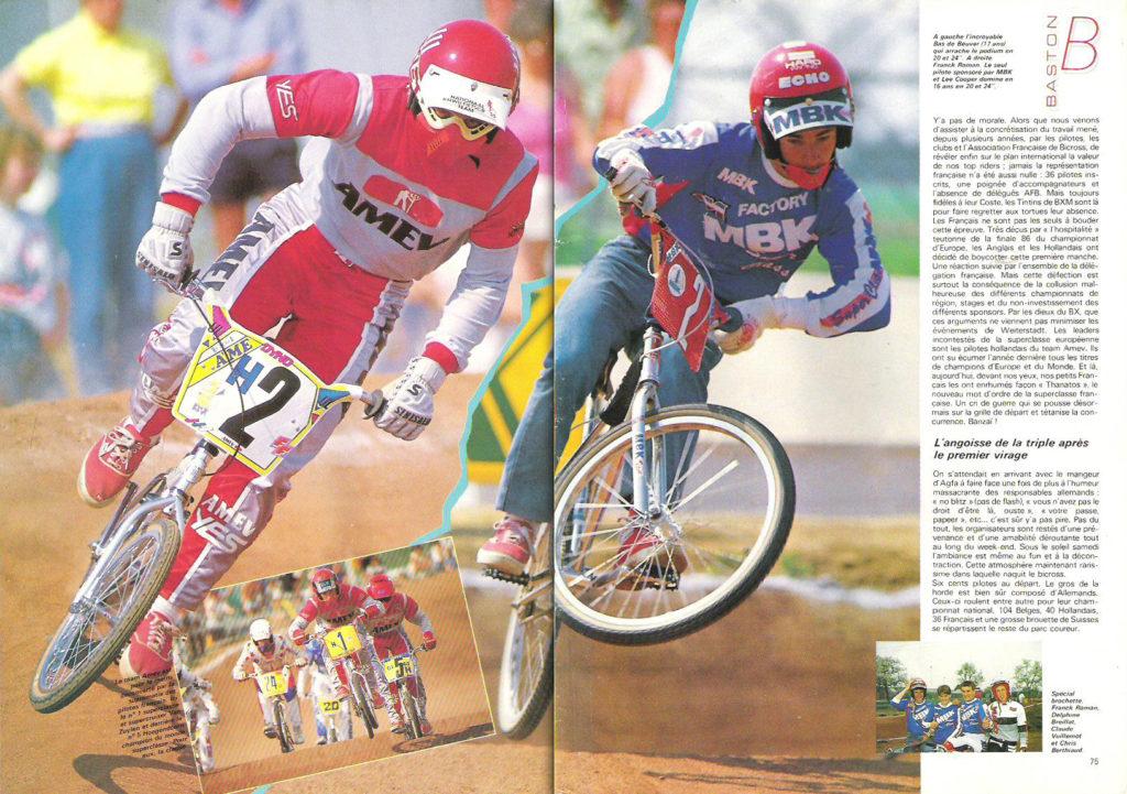 BXM57 - Juin 1987 - Franck Roman en jean