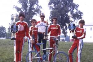 Worlds Dayton 82 - JL Ferre, Yannick Pucel, Sylvain Billon, Yann Catel, David Lebrun
