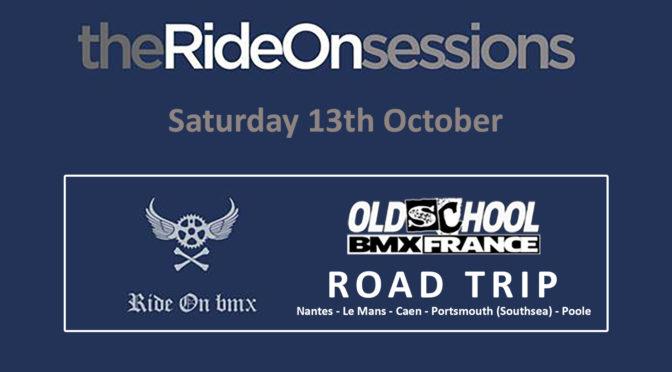 2018 OSBMXF UK ROAD TRIP