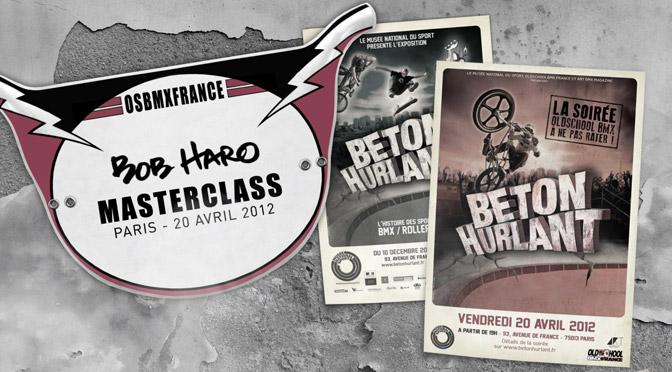 2012 Masterclass Bob Haro – Paris