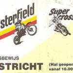 1989 - Démo Team V2000 - Supercross Maastricht
