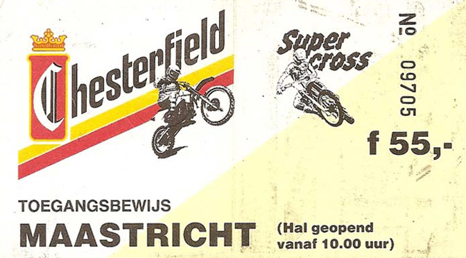 1989 Démo Team V2000 – Supercross Maastricht
