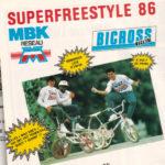 1986 - SuperFreestyle MBK / Bicross Magazine - Circuit Carole