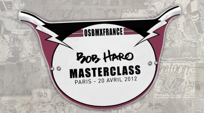 2012 – Masterclass Bob Haro – Paris