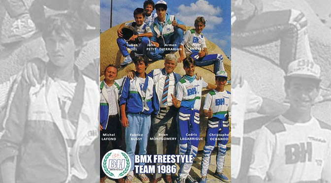 1986 – CRAZY DUCKS BMX FREESTYLE GANG